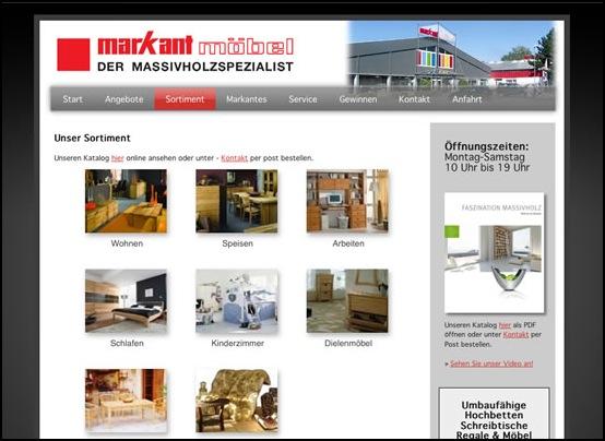 markant m bel lws webdesign wir bringen sie in 39 s netz. Black Bedroom Furniture Sets. Home Design Ideas